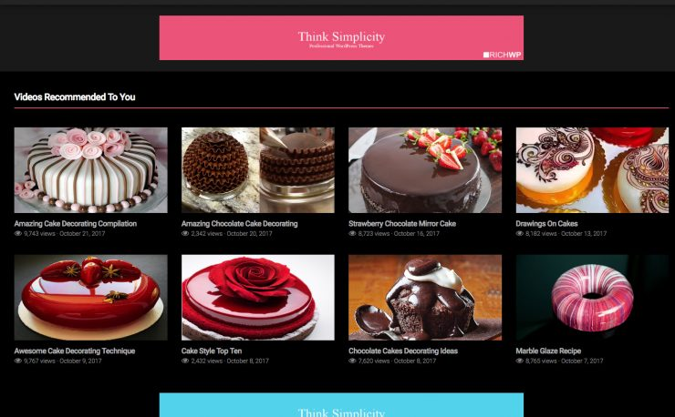 Rich Flicks Video WordPress Theme
