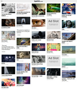 WordPress Grid Theme - SuperGrid