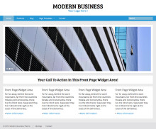 Responsive WordPress Business Theme - Modern Business