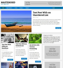 MasterGrid WordPress Grid Theme