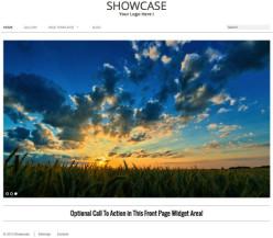 Showcase WordPress Gallery Theme