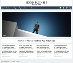 Good Business WordPress Theme