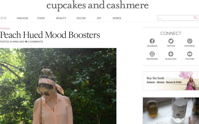 cupcakesandcashmere.com best fashion blog