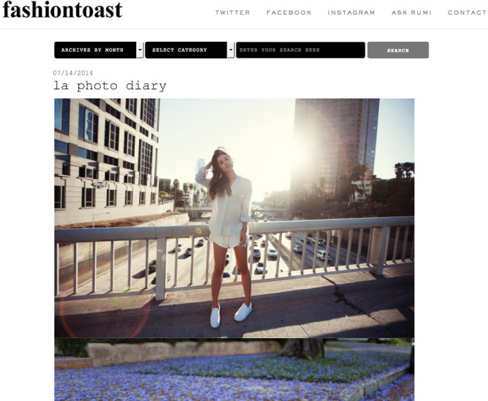Fashion Toast Blog