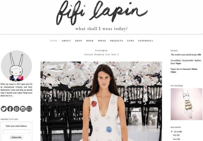 fifi lapin - sSyle & Fashion
