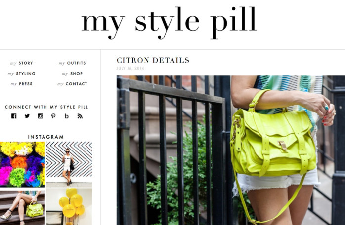 mystylepill - best fashion blogs