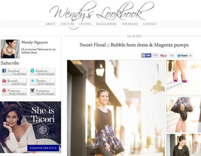 wendyslookbook famous style blog