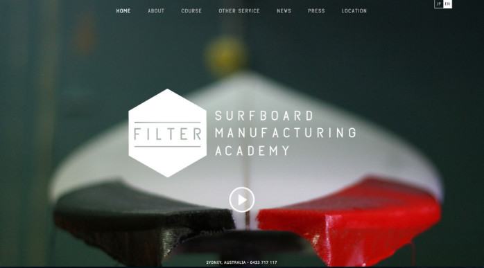 filter fullscreen image background website
