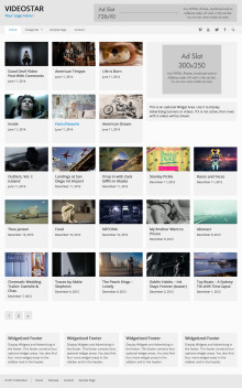 WP Video Theme - VideoStar