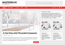 Masterblog WordPress Blog Theme