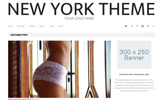 New York - A Minimal WordPress Magazine Theme