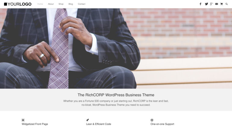 RichCORP – WordPress Business Theme