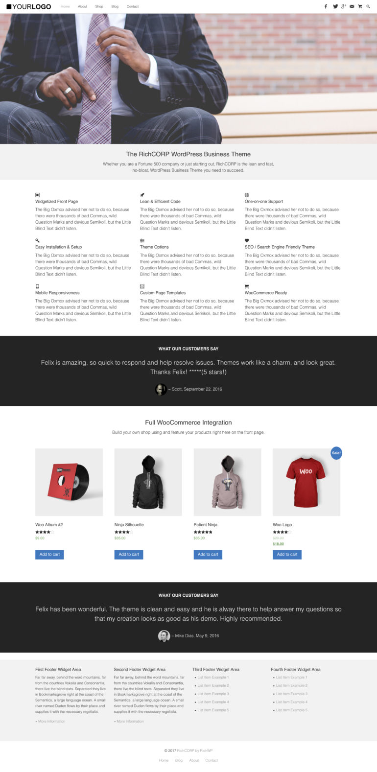RichCORP - WordPress Business Theme