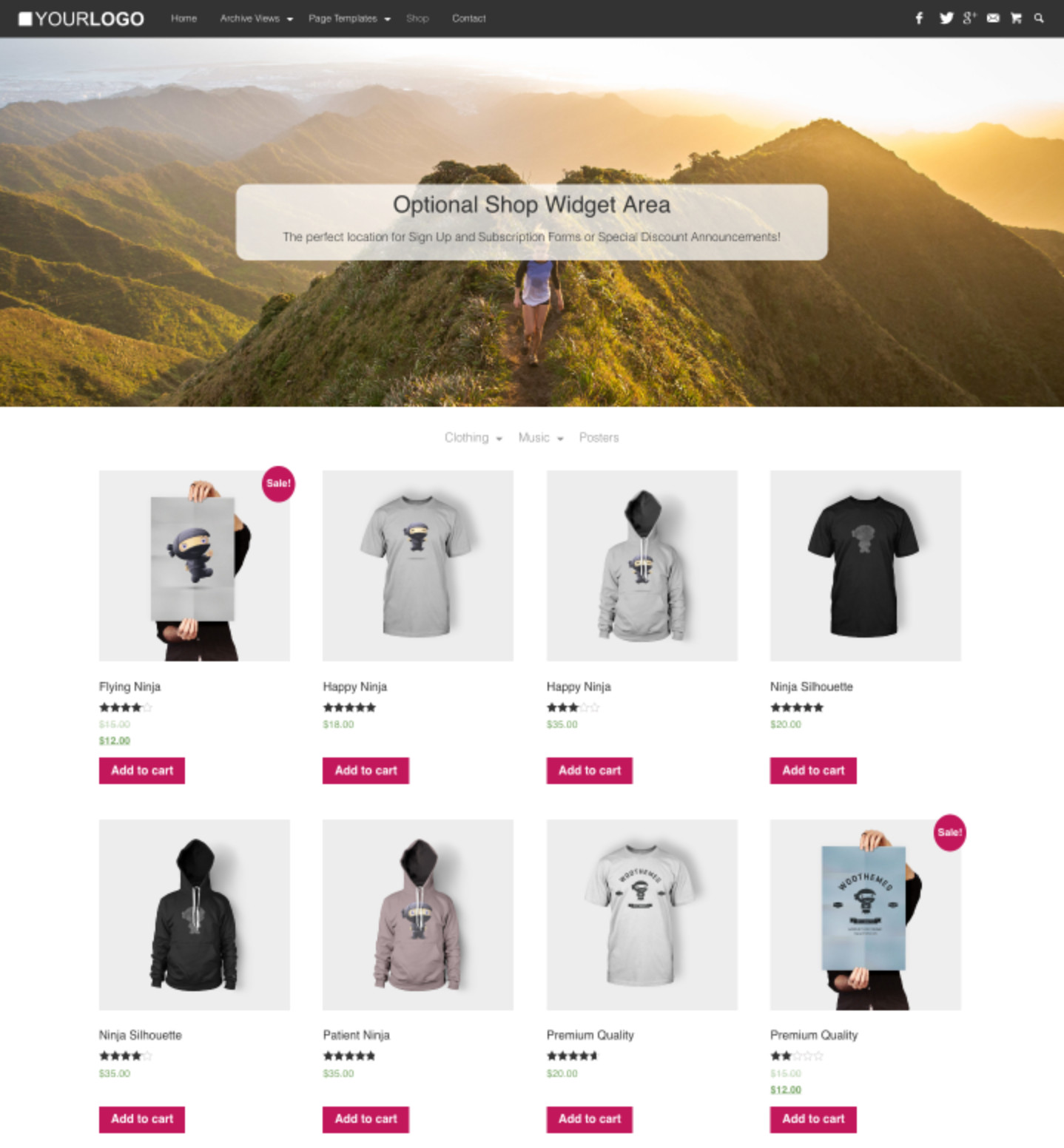 Rich Master is a WooCommerce Ready Personal Blogging Theme